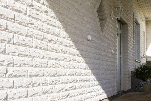 Белый облицовочный кирпич фото