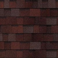 Гибкая черепица Owens Corning Designer Colors Collection, Merlot