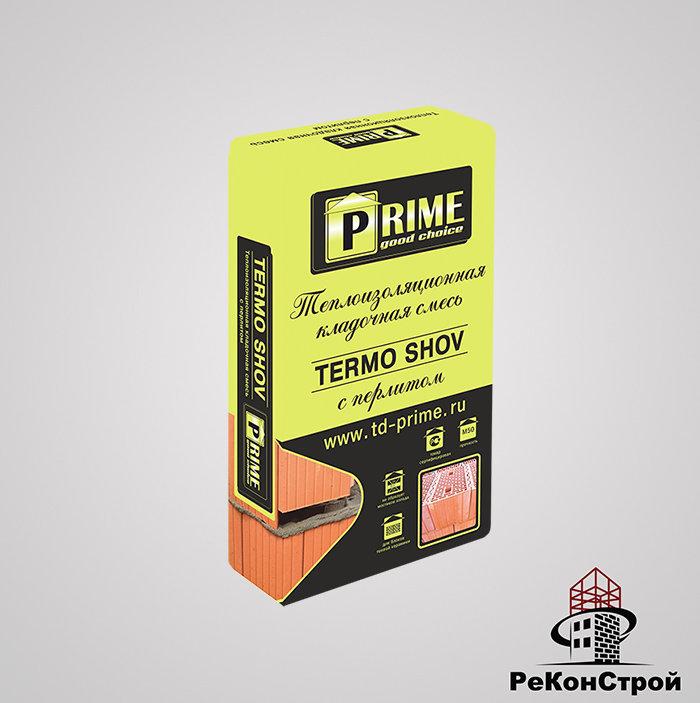 Теплоизоляционный кладочный раствор PRIME Termo Shov 6130, 20 кг в Белгороде