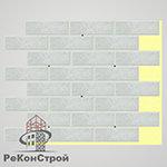 Термопанель с клинкерной плиткой Keravette Shine 837 marmos в Белгороде