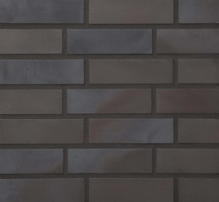 Клинкерная плитка Keravette Flame 336 metallic schwarz